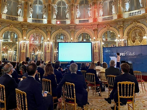 Wainbrige took part in GRI Summit, France and Europe